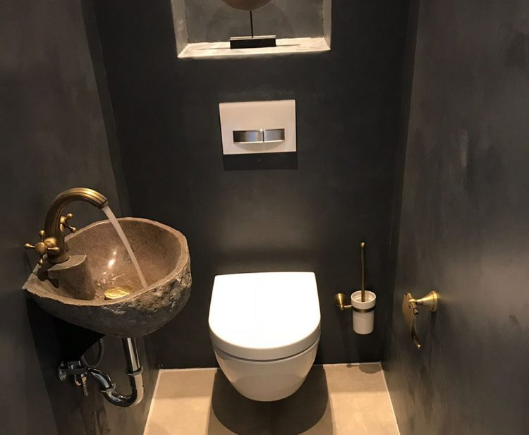 Vaak Toilet | Béton Ciré Pro @MO09