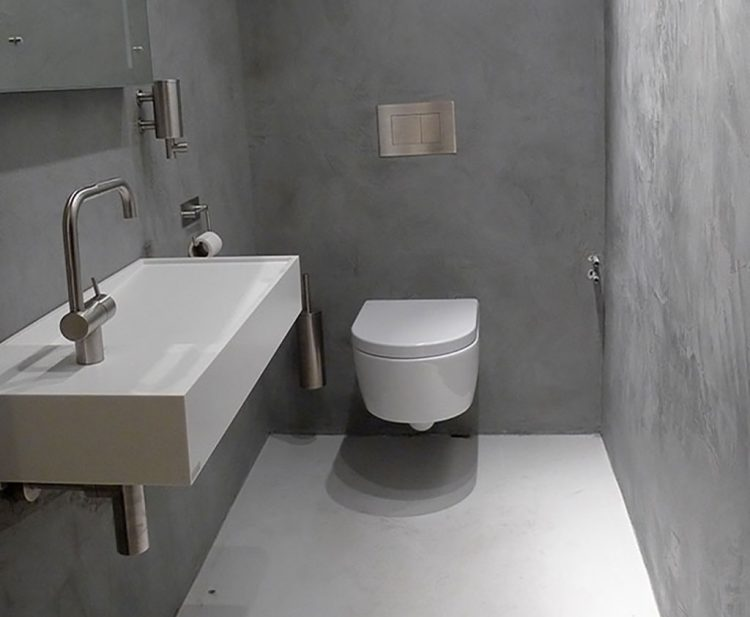 Toilet béton ciré pro